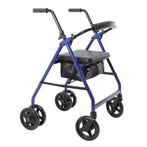 BRAND NEW! Aspire Push Down Seat Walker / Rollator - Walking Aids