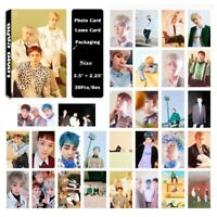 Fashion 30pcs/set Kpop EXO CBX Blooming Days Album Poster Photo Card Lomo Cards