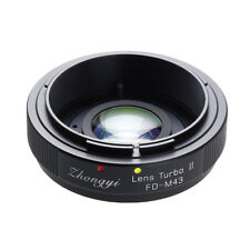 Upgraded version Lens turbo II adapter for Canon FD lens to M4/3 MFT OM-D GH GX