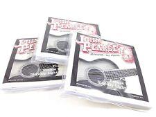 John Pearse Guitar Strings 3 pack  Acoustic Slightly Light #550SL Phos Bronze