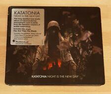 KATATONIA 'NIGHT IS THE NEW DAY' - CD ALBUM WITH SLIPCASE