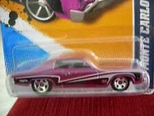 Hot Wheels '70 Monte Carlo Muscle Mania - GM 12 Purple