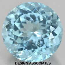 SKY BLUE TOPAZ 3 MM ROUND CUT 5  PC SET AAA ALL NATURAL