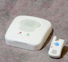 SENIOR ALERT SYSTEM - NO MONTHLY CHARGES - 2-WAY VOICE PANIC BUTTON
