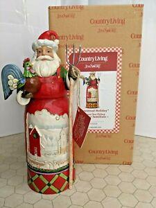 "Jim Shore ""Homestead Holiday"" Country Living 6007445 - Santa with Farm Scene"