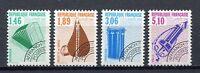 23205) France 1990 MNH New Preoblitere 4v Musical Instr