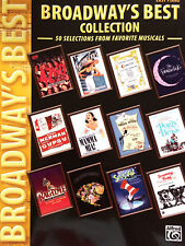 Broadway´s Best Collection - 50 Selections from favorite Musicals - Easy Piano