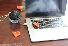 Usb Piggy Shape Air Ultrasonic Black Humidifiers Nebulizer Purifier Fogger