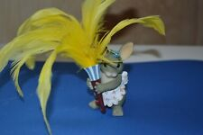"""Charming Tails """"Maid Mouse W/Feather Duster"""" Fritz & Floyd-"""