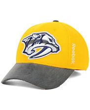 NHL Nashville Predators Reebok 13-14 Playoff Flex Cap, S/M