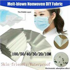 100-M Melt-blown Nonwoven DIY Fabric Mouth Face Craft Filter Interlining Antifog