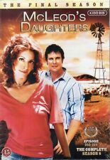McLeod's Daughters - Complete Series 8- DVD - Region 2 - Nordic - New and Sealed