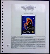 Sweden 1999 Zodiac signs Booklet Sternzeichen kompletter ZD Tierkreiszeichen MNH