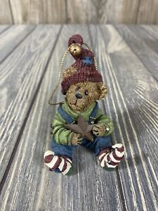 Boyds Bears Bear With Hat And Star Ornament B12