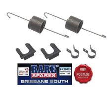 HOLDEN FRONT DRUM BRAKE HOSE SUPPORT SPRING & CLIP SET SUITS EH HD HR