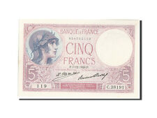 Billets, France, 5 Francs, 5 F 1917-1940 ''Violet'', 1928, 1928-12-07 #209427