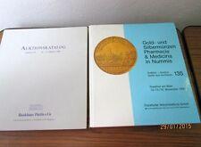 2 ältere Auktionskataloge bzw. Bücher - Thema: Münzen, von 1990/1991  /S8