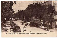 CPA 83 - DRAGUIGNAN (Var) - 14. Le Boulevard Georges Clémenceau et la Préfecture