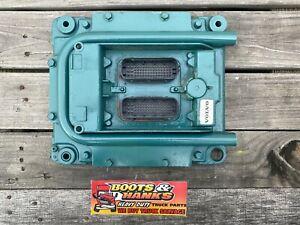 VOLVO D13  ECM ECU PART#21107008 P01 DIESEL ENGINE COMPUTER MODULE
