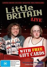 Little Britain: Live Plus Gift Cards - Brand New DVD Region 4