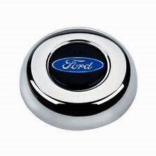 "Maverick Torino Galaxie LTD Grant Black Steering Wheel 13 3/4"" shallow dish"