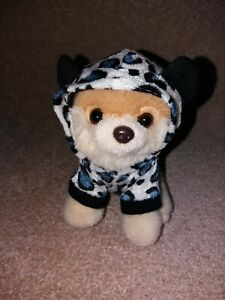 Gund Boo The Dog 4050491 Itty Bitty Boo #026 Leopard Suit Plush Great Condition