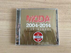 Modà _ 2004 - 2014 L'Originale _ 2 X CD Album _ 2014 Ultrasuoni SIGILLATO RARO!