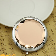 Personalised Engraved Compact Mirror Birthday Wedding Valentines Mother Day Gift Chocolate 0614993018715