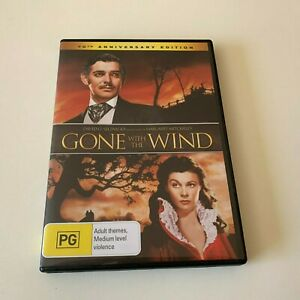 GONE WITH THE WIND 70th Anniversary Edition 2-disc DVD LIKE NEW