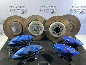 BMW 3 SERIES F30 F31 M PERFORMANCE BREMBO BRAKE CALIPERS AND DISCS 340MM OEM