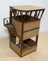 1/32 Pit Tower Module for Scalextric, Slot Car Or Magnetic Racing