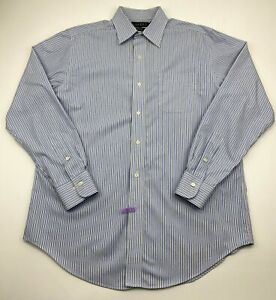 Lauren Ralph Lauren Mens Size 16 34/35  Long Sleeve Shirt Button Down Cotton