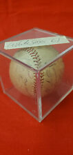 1959 CHICAGO WHITE SOX TEAM SIGNED BASEBALL - NELSON FOX - EARLY WYNN