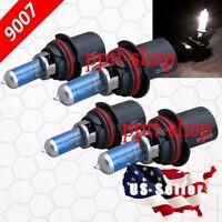 9007 HB5 Halogen 55w Xenon Headlight Bright White #Kb8 Light Bulb High//Lo Beam