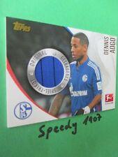 Topps Chrome Bundesliga 2014/15 Aogo Trikot Karte Jersey Card Schalke