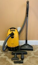New ListingMiele Solaris Canister Vacuum Cleaner W/Onboard & Bare Floor Attachments ~ S514