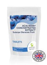 Acai Berry Acai estratto concentrato antiossidante 500 MG - 120 Compresse Pillole