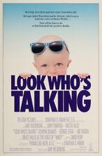 LOOK WHO'S TALKING MOVIE POSTER 1 Sheet ORIGINAL ROLLED 27x41 JOHN TRAVOLTA