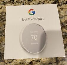 NEW! SEALED! Google NEST Programmable Thermostat G4CVZ White Snow Free Shipping!