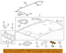 GM OEM-Map Light-Reading Lamp 22800747