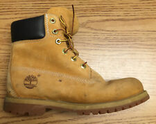 Timberland Leather High Top Work Boots, Tan, 7W