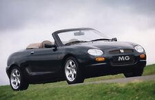 Workshop Service Repair Manual for MG F 1995-2002 DOWNLOAD