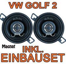 VW Golf 2 II  MAGNAT LAUTSPRECHER Amaturenbrett BOXEN SET  NEUWARE