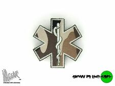 ill Gear STAR OF LIFE MEDIC MEDICAL PARAMEDIC PATCH CAMO MEDIUM HOOK & LOOP