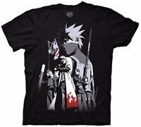 Naruto Shippuden Kakashi Story Anime Licensed Adult T-Shirt
