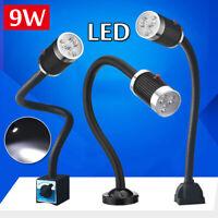 110-220V 9W CNC Machine LED Lamp Magnetic/Fixed Base Working Lamp Light  !