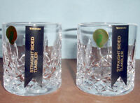 Waterford Lismore Straight Sided Classic Tumbler SET/2 Connoisseur 40003430 New