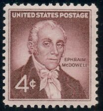 #1138, 4¢ Ephraim Mc Dowell, Lot 400 Mint Stamps Spice Your Mailings