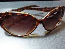 Betsey Johnson Brown Tort Ladies Sunglasses BJ6060P 063-57-16 Rare Frame