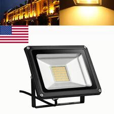New listing 30W Led Flood Light Warm White Outdoor Security Landscape Light 110V Ip65